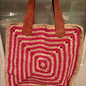 Handbags - STRAW CARRY-ALL BAG